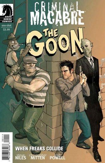 Criminal Macabre / Goon: When Freaks Collide
