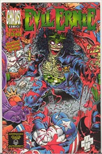 1995 Evil Ernie No. 1 Comic Book