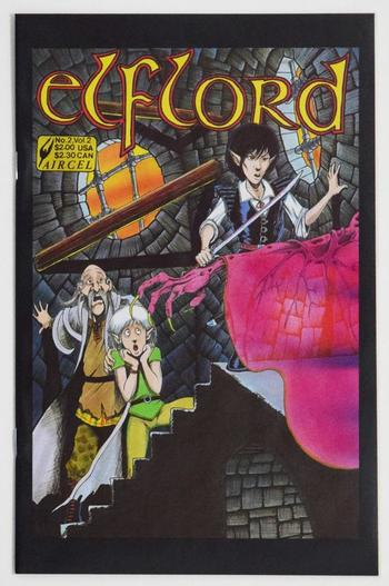 Elflord Comic Books Sept 1986 Series Volume 2