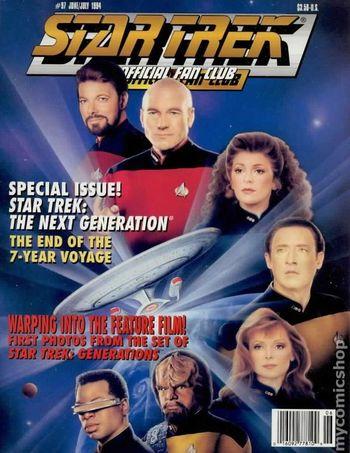 Star Trek The Official Fan Club Magazine 97