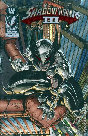Shadowhawk III 1993 #1