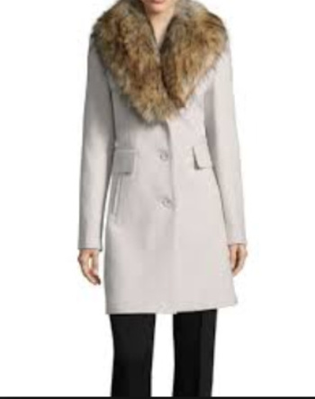 New Faux (Detachable) Fur Women's Jacket Size X-Large NEW