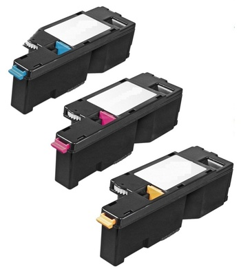 Compatible 3PK Compatible COLOR Toner set for Xerox Phaser 6000 6010 Workcentre 6015 6015NI