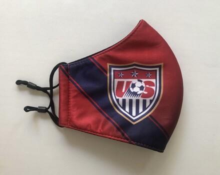 Face Mask Fashion USA Soccer Mask Reusable