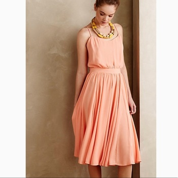 Paper Crown Anthropologie Dress, Size Small