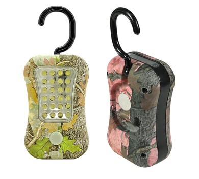 2 Pieces Camouflage Hanging LED Work Light with Dual Function 2 Pieces