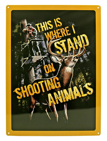 New Classic Hunting Decorative Collectible Sign