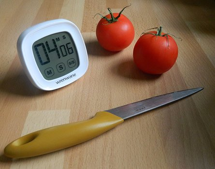 Digital Countdown Timer With Touchscreen and Magnet