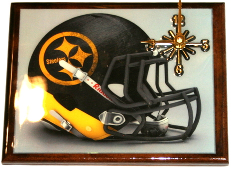 One Of A Kind NFL Wall Clock Pittsburg Steelers Extreme Exclusive Collection