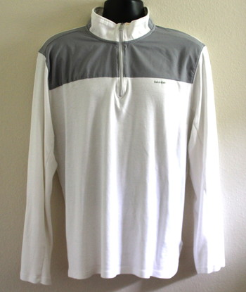 Calvin Klein Zipper Shirt  Size X-Large