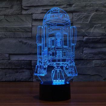 5 Pack 3D Optical Illusion Star Wars Set
