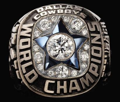 Dallas Cowboys 1967 Championship Ring Size 11