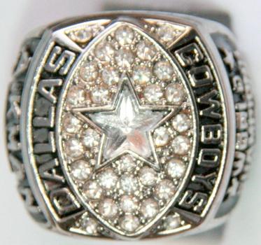 NFL Dallas Cowboys 1991 Super Bowl XXVII Championship Replica Ring Size 10