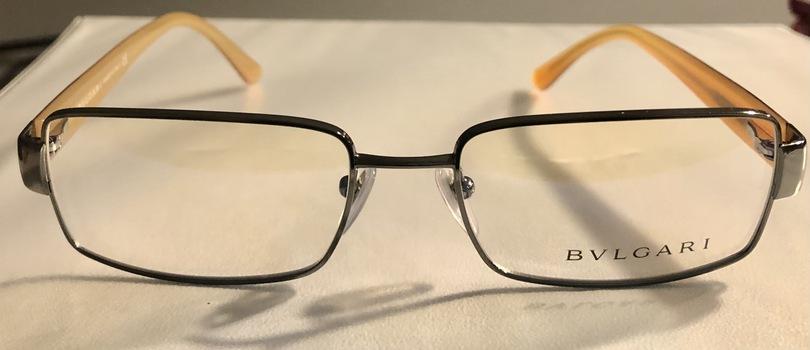 New Bulgari Made in Italy Glasses Frame