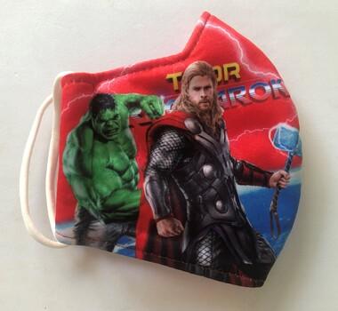 Face Mask Thor Fashion Mask Reusable