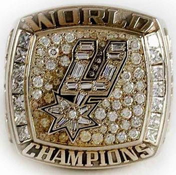 NBA San Antonio Spurs 2003 Championship Replica Ring Size 11