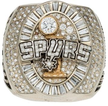 NBA San Antonio Spurs 2014 Championship Replica Ring Size 11