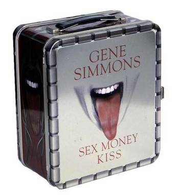Gene Simmons Limited Edition Sex Money Kiss Tin Lunchbox