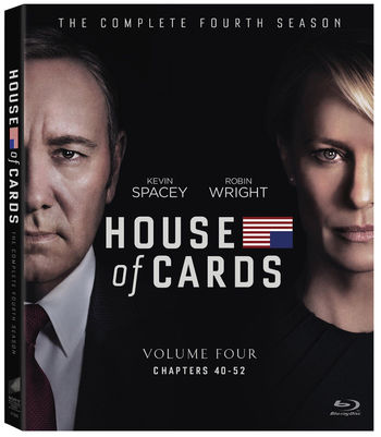 NEW House of Cards Blu-Ray BluRay Disc Volume 4 Chapter 40-52