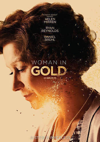 Woman in Gold (DVD, 2015, Canadian)