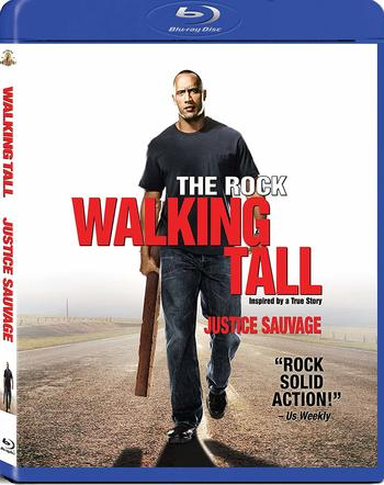 Walking Tall (Blu-ray Disc, Canadian bilingual) The Rock