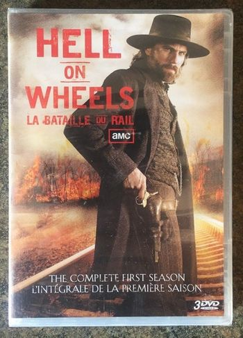 ** Hell on Wheels: The Complete First Season DVD New