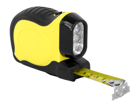New Tape Measure with Flashlight