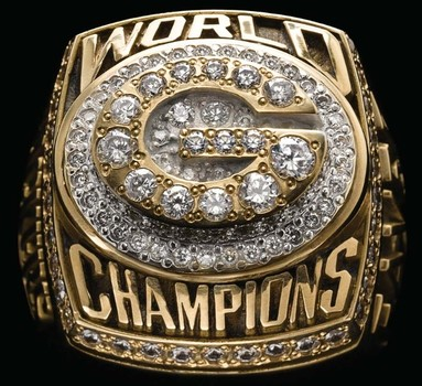 Green Bay Packers Super Bowl XXXI World Championship Replica Ring Size 11