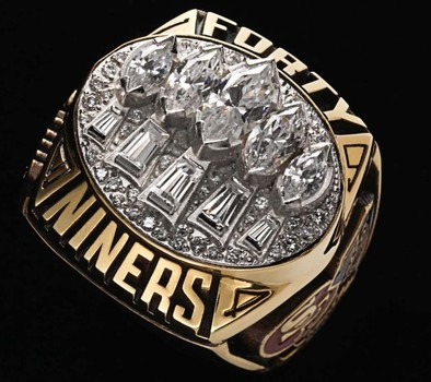 San Francisco 49-ers Super Bowl XXIX World Championship Replica Ring Size 11
