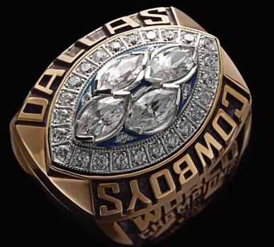 Dallas Cowboys Super Bowl XXVIII World Championship Replica Ring Size 11