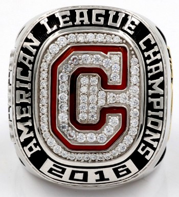 MLB Cleveland Indians 2016 American League Championship Replica Ring Size 11