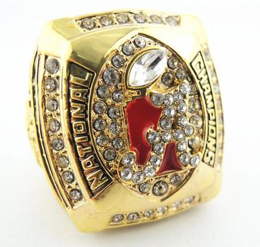 NCAA Alabama Crimson Tide Football 2011 Championship Replica Ring Size 11