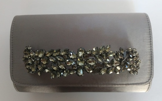 New Beautiful Fancy Party Purse With Crystals