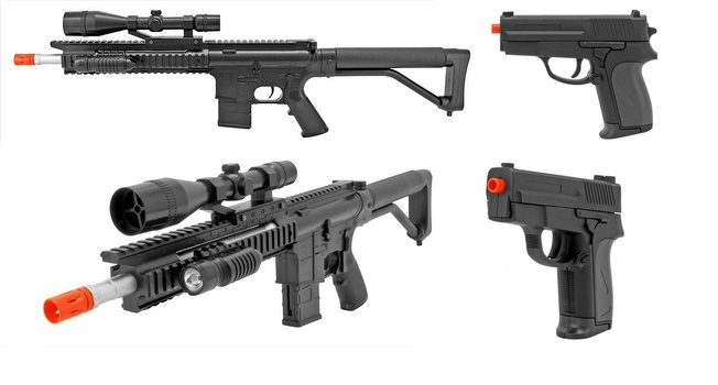 Combo Special 2 Units Pistol and Rifle