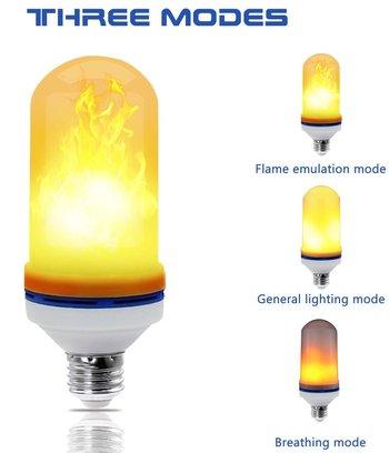 AMZLIFE LED Flame Bulb NIB