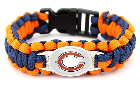 NFL Chicago Bears Paracord Bracelet