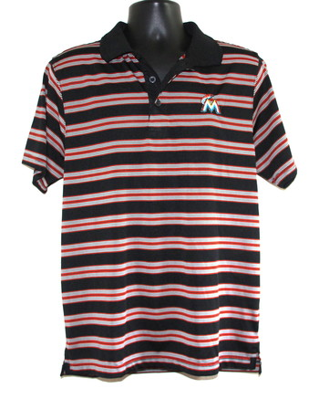 MLB ssMiami Marlins Golf Shirt Size X-Large