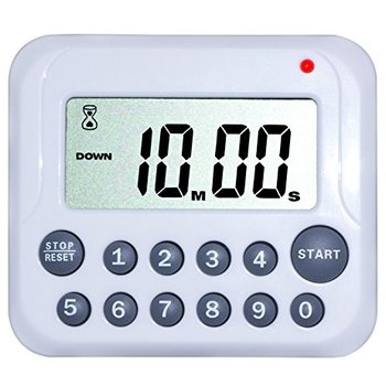 Magnetic Fridge Cooking Timer & Clock with Stand Function