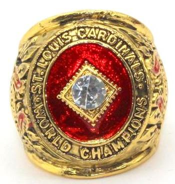 St Louis Cardinals World Series 1946 Champions Replica Ring Size 11