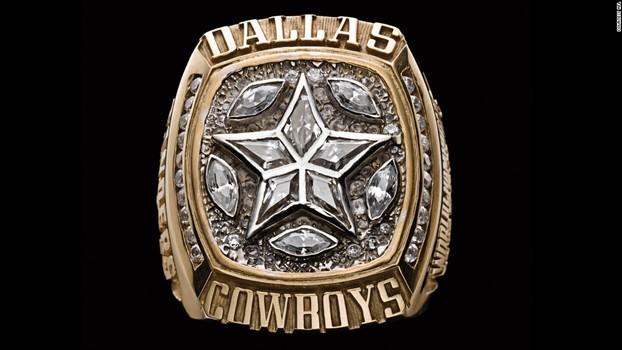 Dallas Cowboys Super Bowl XXX World Championship Replica Ring Size 11