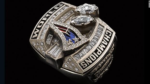New England Patriots Super Bowl XXXVIII Championship Replica Ring Size 14
