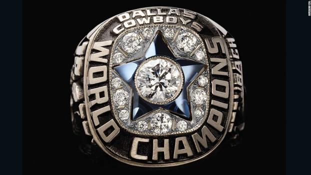 Dallas Cowboys Super Bowl VI World Championship Replica Ring Size 9