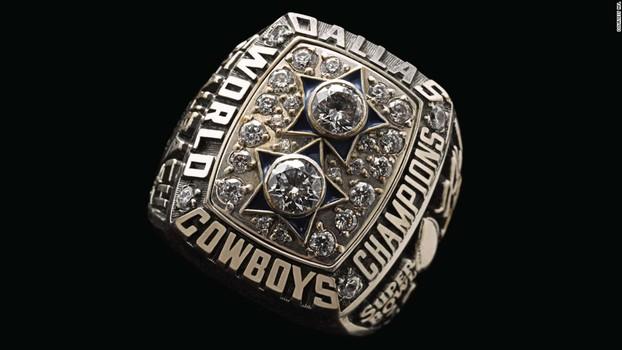Dallas Cowboys Super Bowl XII Replica Ring Size 10