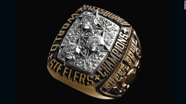 Christmas Gift Pittsburgh Steelers Super Bowl XIII Replica Ring Size 11