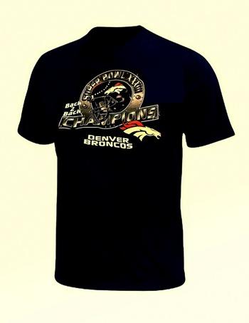 New Broncos Super Bowl Champions Shirt Size M