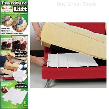 Furniture Lift As Seen On Tv - Lift And Fix Your Sagging Upholstery - New