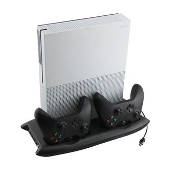 Xbox One X Multifunctional Cooling Stand and Controller Station (Only Stand and Cooler Station)