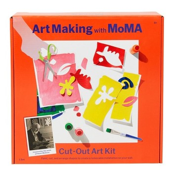 Art Making with MoMA Cut-Out Art Kit