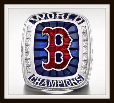 MLB Boston Red Sox 2018 Championship Replica Ring size 10