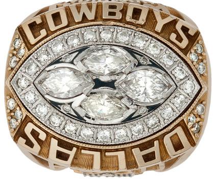 NFL Dallas Cowboys Super Bowl XXVIII Championship Replica Ring Size 10